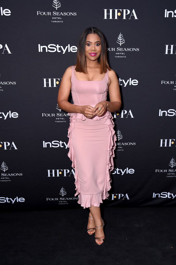 Kit Harington, Tika Sumpter, Regina Hall spotted at the Hollywood Foreign Press Association & InStyle Party at 2018 Toronto International Film Festival