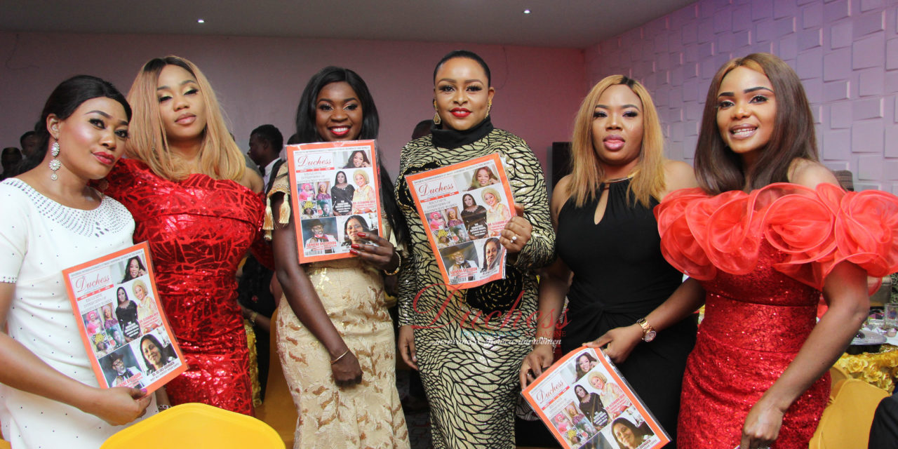 Fun, laughter, style light up as Duchess International Magazine launches print copy – 'The Magnificent woman'