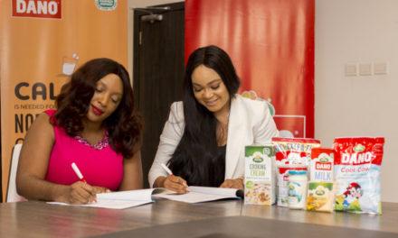 Dano Milk signs Nollywood Actress Rachael Okonkwo as Brand Ambassador