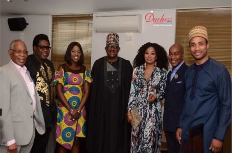 A Grand Affair! Bisi Olatilo launches Biscon 24hr Tv app in London