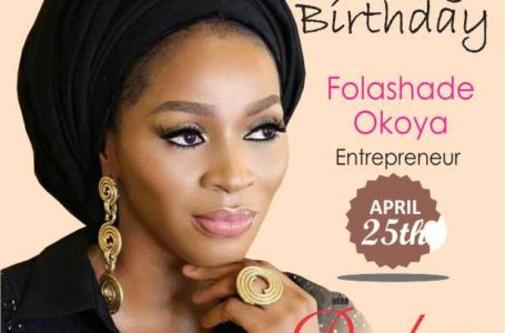 Top Nigerian socialite and entrepreneur Shade Okoya turns 42